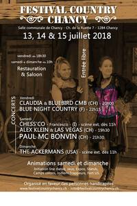 festival country chancy 2018
