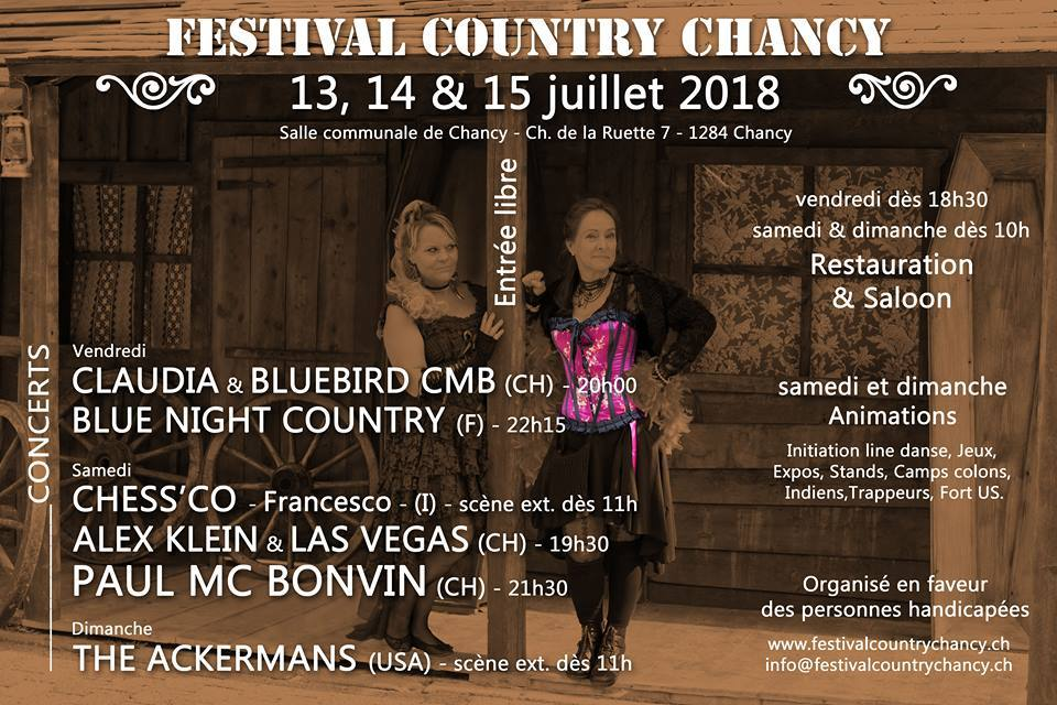 Country Music Festival Chancy